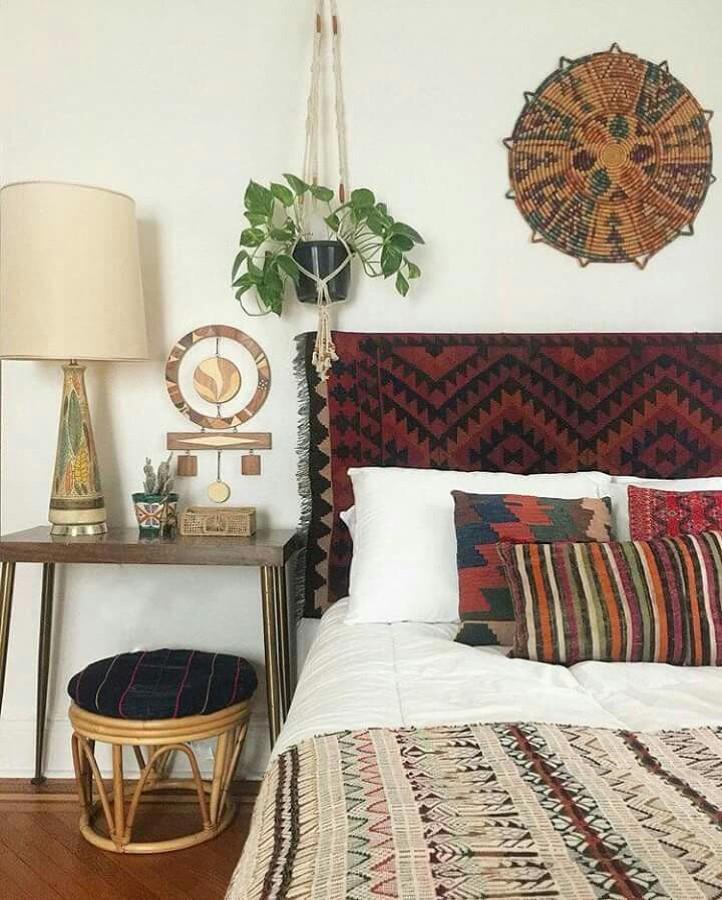 tapeçaria no quarto