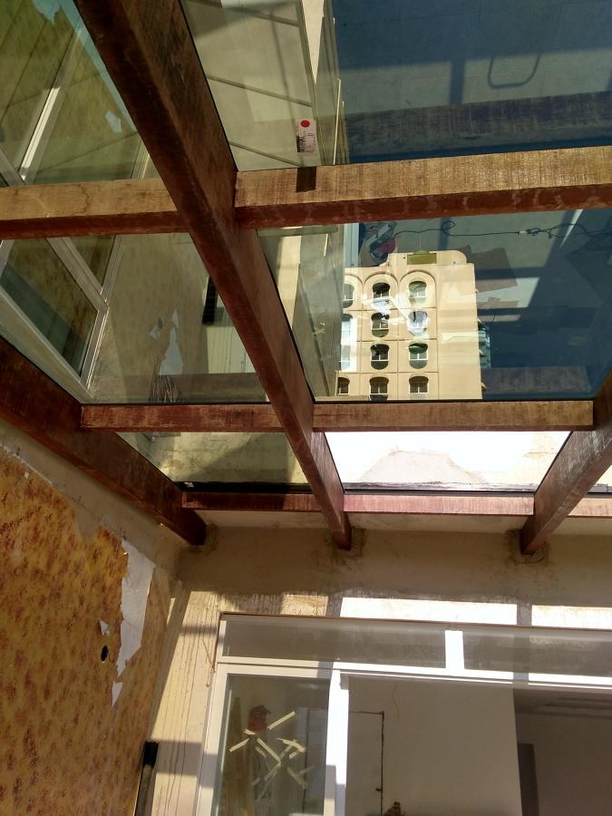 Telhados de vidros .