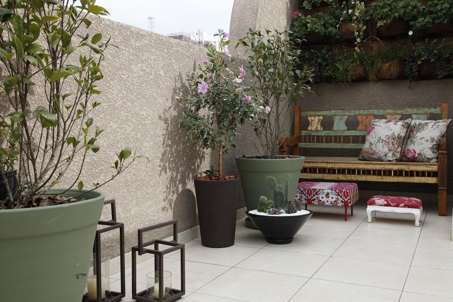 terraço decorado
