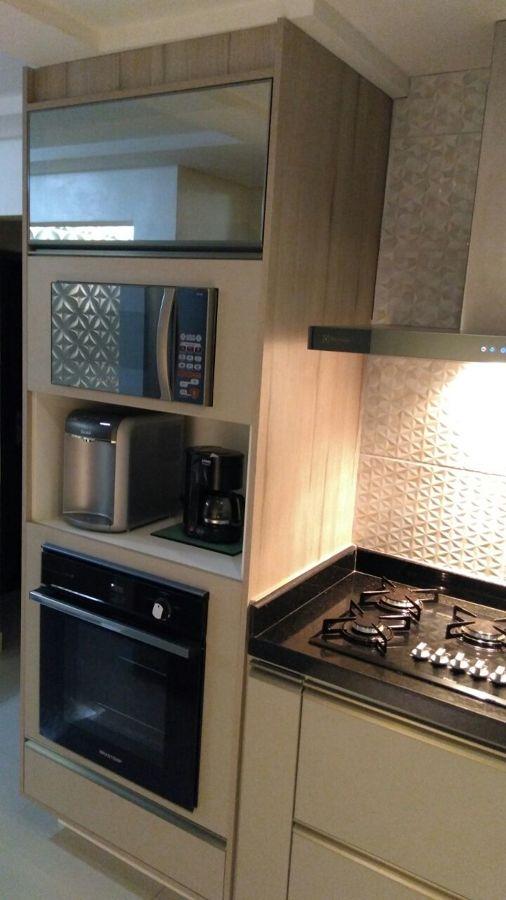 torre quente cozinha grigio / Reflecta Bronze