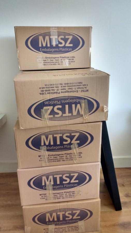 Tudo em caixa para melhor proteger e facilitar o manuseio de objetos
