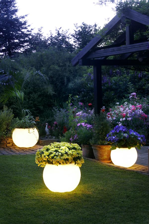 vaso luminária