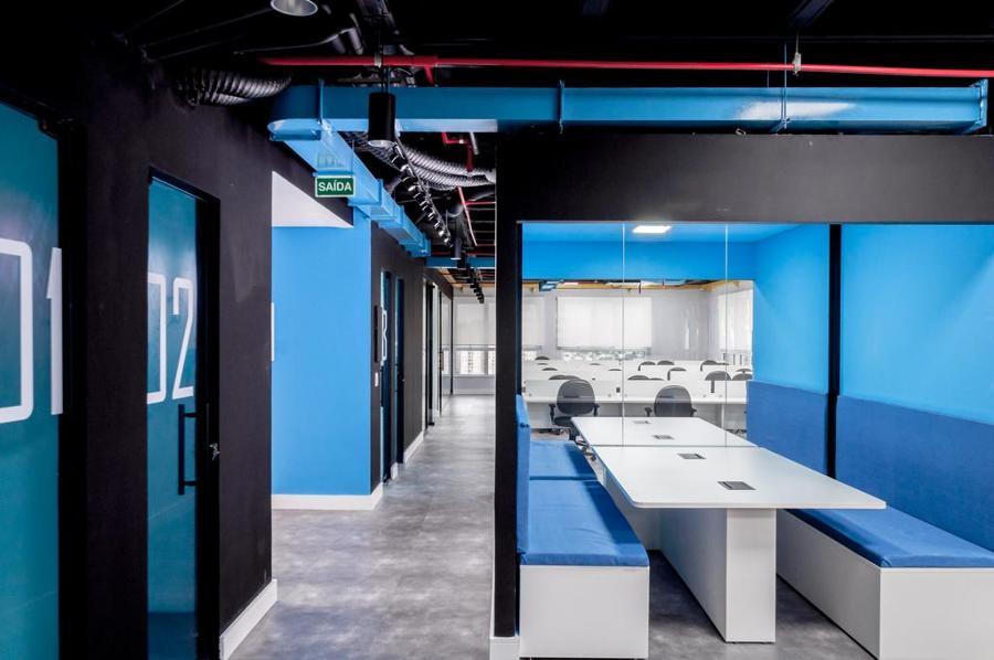 visão geral do escritório