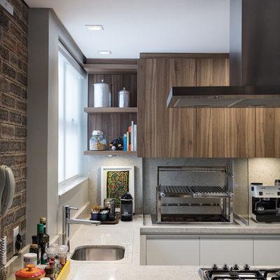 Cozinha - Apartamento Aurélio Bitencourt