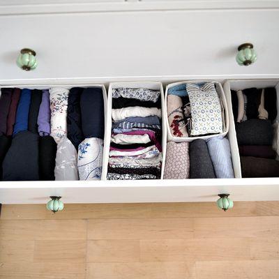 Armários organizados: como guardar as roupas