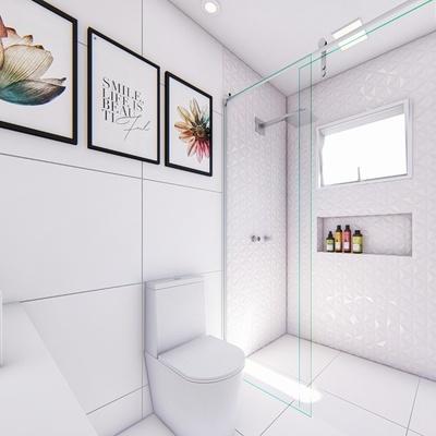 Reforma de Banheiro Menina