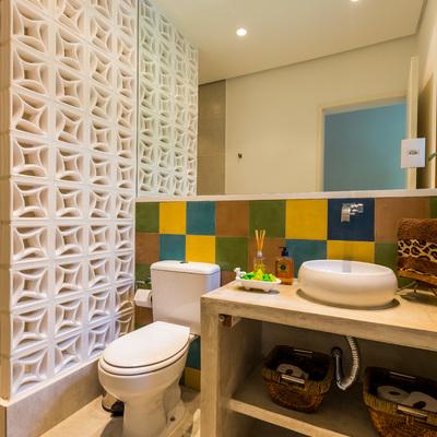 Ideias para banheiros sem janelas