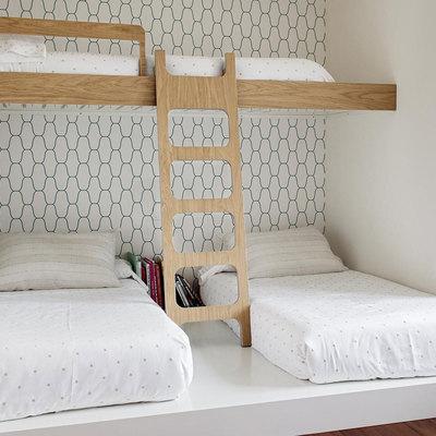 Três camas em um quarto? Sim, é possível