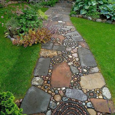 6 ideias de caminhos para jardins