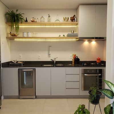 6 Truques para distribuir bem uma cozinha pequena