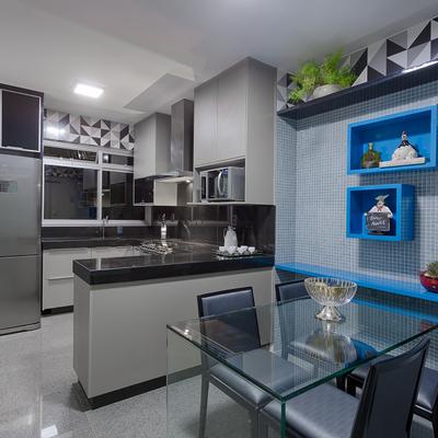Um apartamento sofisticado e adaptado ao gosto de seus donos (BH)