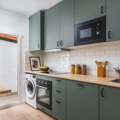 Cozinha: branca ou colorida