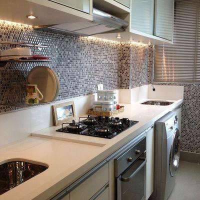 Soluções para cozinhas do tipo corredor