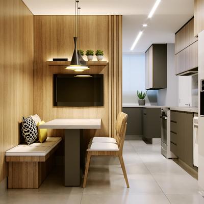 5 truques para ter cozinha e sala de jantar integradas