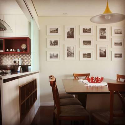 Cozinha e sala de jantar integrados