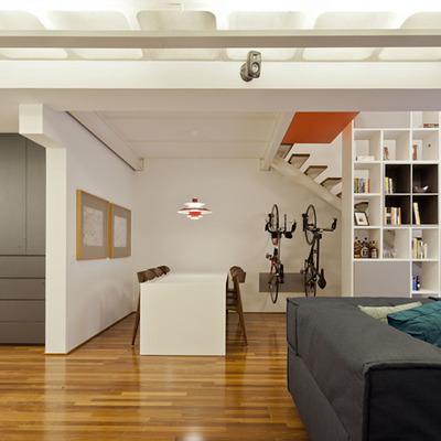 Design interior e paredes Drywall e pintura