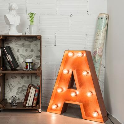 DIY: Como fazer letras luminosas