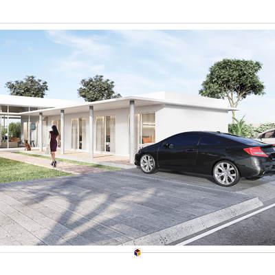 Projeto de arquitetura para construção de residência unifamiliar