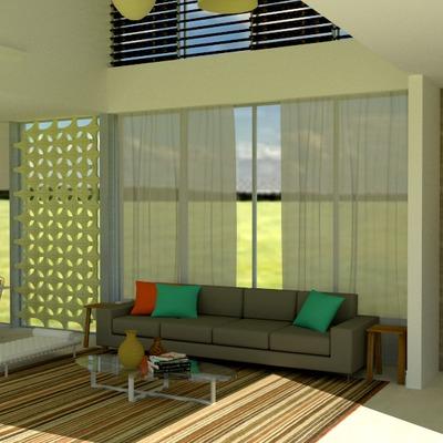Espaço integrado residencial