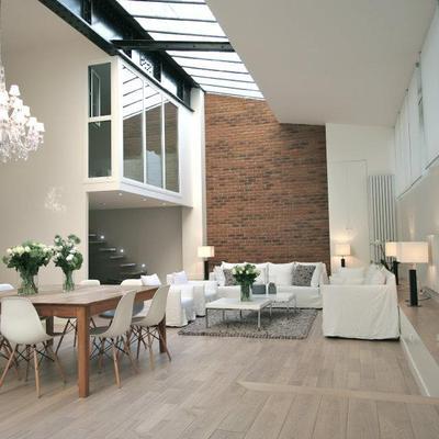 Estúdio fotográfico vira lindo apartamento (Paris)