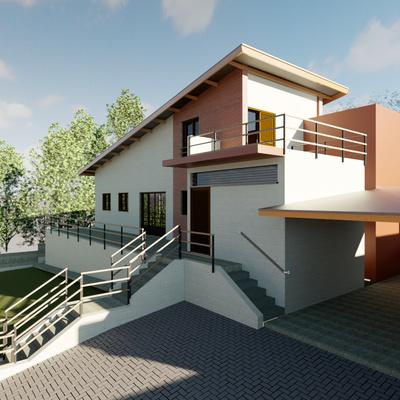 Projeto residencial campo e contemporâneo - Valinhos/SP