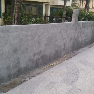 Demolição e construção de novo muro