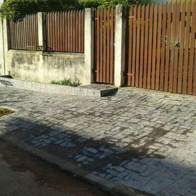 Reforma e Padronização da calçada !