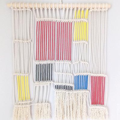 Tecer já não é mais coisa de avós: elabore sua própria cortina de macramê