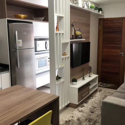 Foto interna Apartamento decorado