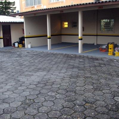 Garagem finalizada