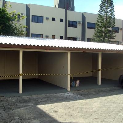 Garagem quase finalizada