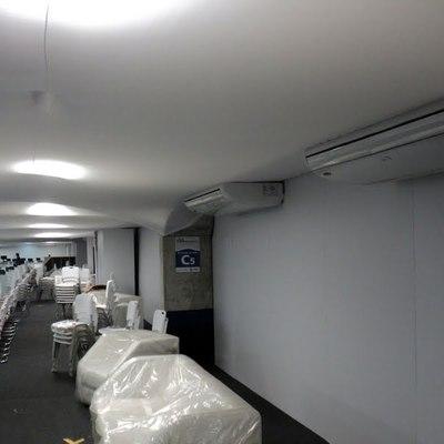 Instalações nas Agencias Bradesco.