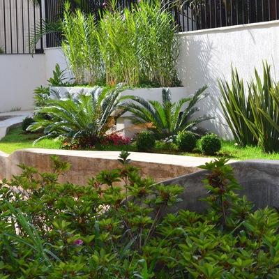 Salão de festas ganha integração com o jardim