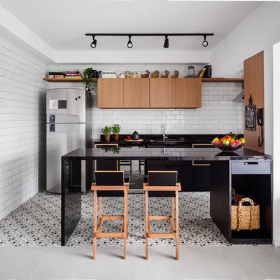 6 ideias para misturar pisos diferentes