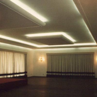 teto de gesso decorado