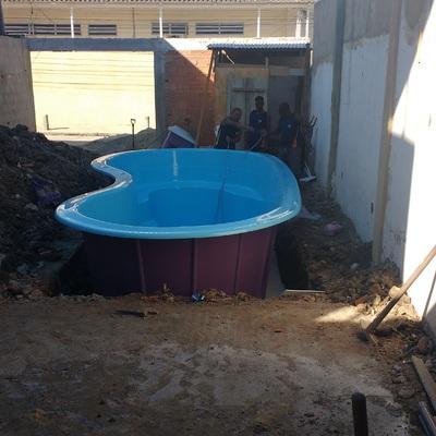 Piscina Rio Uatumã, instalação