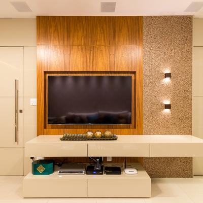 Materiais diversificados e boa iluminação criam ambientes aconchegantes e intimistas