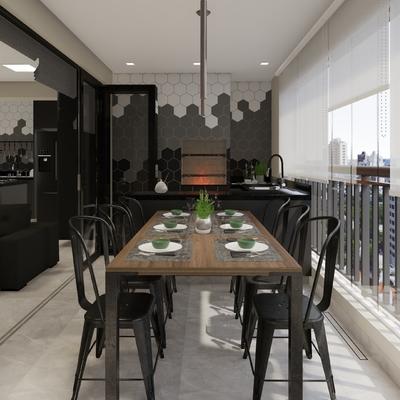 Projeto de Arquitetura - Apartamento completo