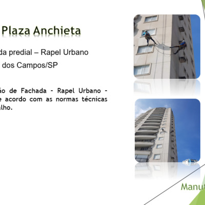 Pintura de Fachada Predial - Rapel Urbano