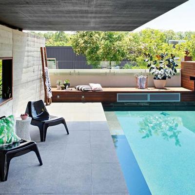 Ambientes compactos: piscinas para espaços pequenos
