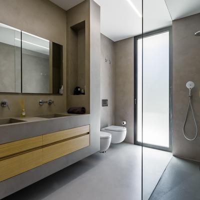 6 Ideias para reformar banheiro com cimento queimado