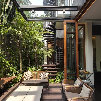 Sombra na dose certa: como ter coberturas na varanda sem perder o charme