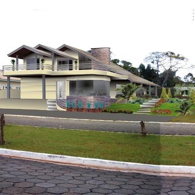Construção Casa de Praia com 4 Suítes