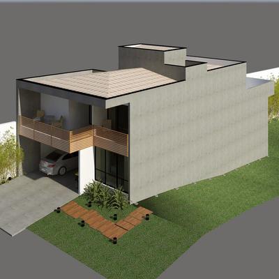 Projeto Arquitetônico - Residencial Chapadão (Campinas/SP)