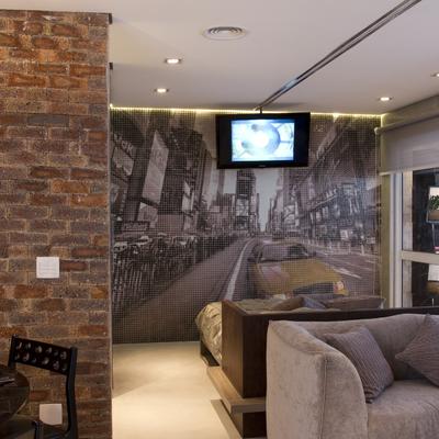 projeto corporativo - apartamento decorado