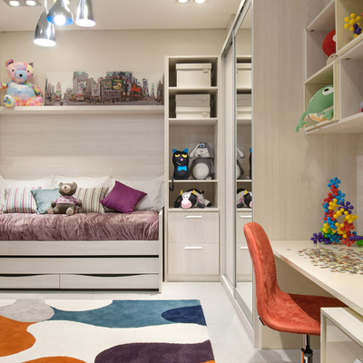 Dicas para organizar um dormitório infantil