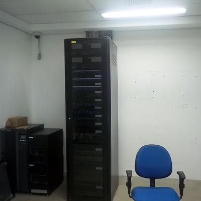 Rack para Sistema de CFTV e Rede estruturada