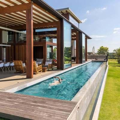O encanto das piscinas elevadas