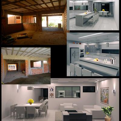 Reforma Cozinha / Sala Jantar