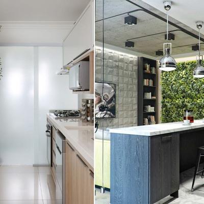 Jardim vertical: saiba como criar um lindo cantinho verde cheio de vida na sua cozinha